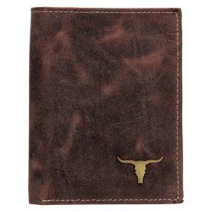 Pánská kožená peněženka Wild Buffalo Štěpán – hnědá