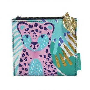 Disaster barevná dámská peněženka Savannah Wallet With Leopard