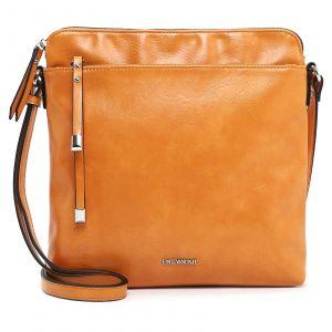 Dámská crossbody kabelka Emily & Noah Paltea – oranžová