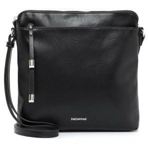 Dámská crossbody kabelka Emily & Noah Paltea – černá