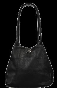 Oboustranná kožená kabelka Irmina Nera Barva vnitřku: modrá