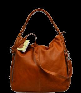 Italské kožené kabelky Gemma Camel