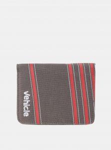 Vehicle OYSTER CHARCOAL dámská značková peněženka – šedá