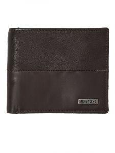 Billabong FIFTY50 ID LEATHER CHOCOLATE pánská značková peněženka – hnědá