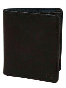 Billabong GAVIOTAS LEATHER black pánská značková peněženka – černá