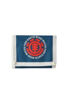 Element ELEMENTAL MOROCCAN BLUE pánská značková peněženka – modrá