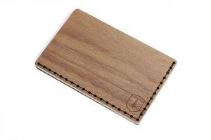 Dřevěný vizitkovník Nox Note BeWooden
