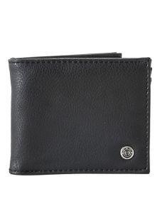 Element BOWO FLINT BLACK pánská značková peněženka – černá