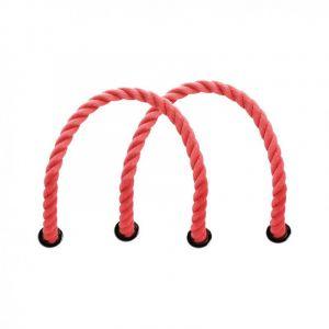 Obag červená krátká provazová držadla