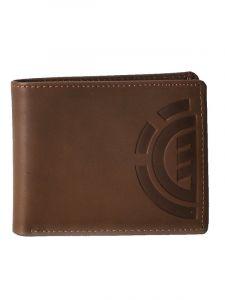 Element DAILY ELITE brown pánská značková peněženka – hnědá