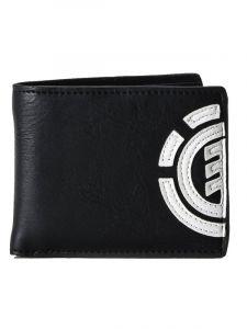 Element DAILY FLINT BLACK pánská značková peněženka – černá
