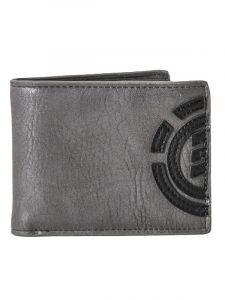 Element DAILY STONE GREY pánská značková peněženka – šedá