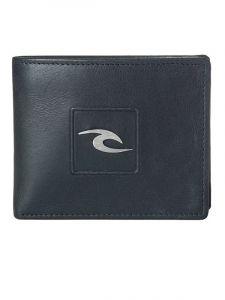 Rip Curl RIDER 2 IN 1 black pánská značková peněženka – černá
