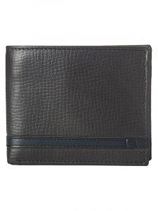 Rip Curl OVERLAP 2 IN 1 brown pánská značková peněženka – hnědá