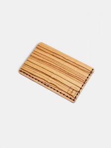Dřevěný vizitkovník Linea Note BeWooden