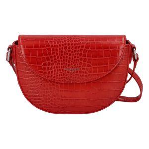 Dámská crossbody kabelka David Jones Esteri – červená