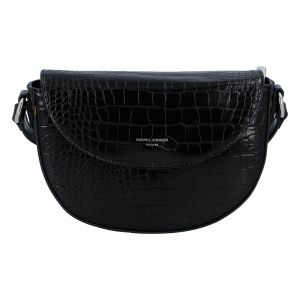 Dámská crossbody kabelka David Jones Esteri – černá