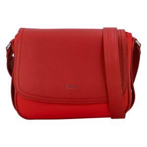 Dámská crossbody kabelka David Jones Laila – červená