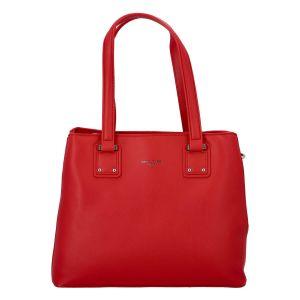 Dámská kabelka David Jones Sostrata – červená