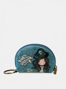 Santoro malá neoprenová peněženka Gorjuss Pirates Black Pearl