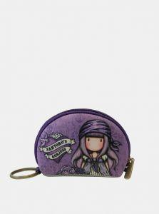 Santoro fialové malá peněženka Gorjuss Pirates Sea Nixie