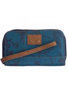 Animal CATCHING WAVES Mediterranea Green dámská značková peněženka – modrá