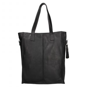 Dámská kožená kabelka Justified Monic – černá