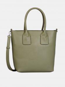 Zelená velká kabelka Tom Tailor