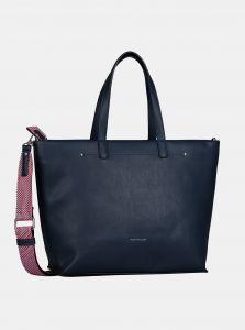 Tmavě modrá velká kabelka Tom Tailor
