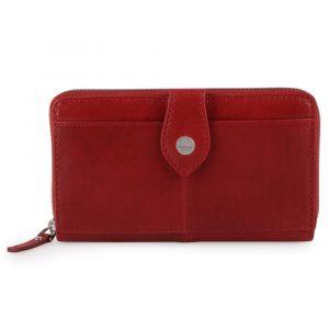 Maître Dámská kožená peněženka Lemberg Dietrun 4060001696 – červená