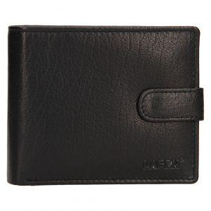 Pánská kožená peněženka Lagen Fredint – černá