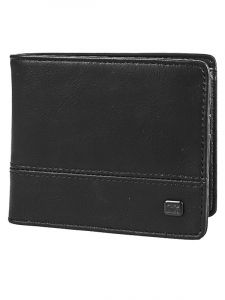 Billabong DIMENSION BLACK GRAIN pánská značková peněženka – černá
