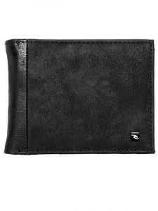 Rip Curl CONTRAST RFID PU ALL black pánská značková peněženka – černá