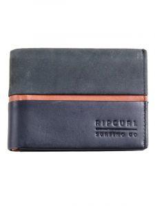 Rip Curl STRINGER RFID ALL DA black pánská značková peněženka – černá