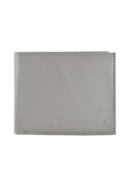 Horsefeathers GEAR perforated gray pánská značková peněženka – šedá