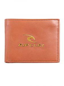 Rip Curl CORPOWATU RFID 2 IN brown pánská značková peněženka – hnědá