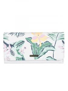 Roxy HAZY DAZE BRIGHT WHITE PRASLIN dámská značková peněženka – bílá