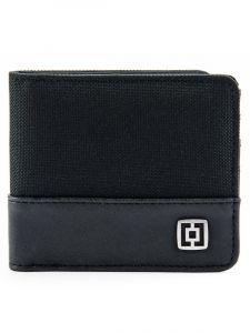 Horsefeathers TERRY black pánská značková peněženka – černá