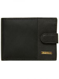 Rip Curl REVERT CLIP RFID ALL black pánská značková peněženka – černá