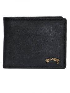 Billabong ARCH ID LEATHER black pánská značková peněženka – černá