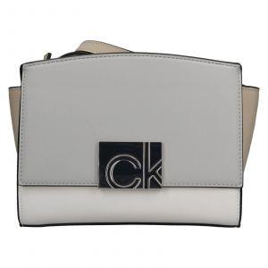 Dámská crossbody kabelka Calvin Klein Lianda – modro-béžová