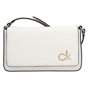 Dámská crossbody kabelka Calvin Klein Brian – bílá