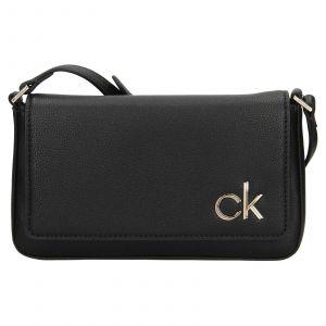 Dámská crossbody kabelka Calvin Klein Brian – černá