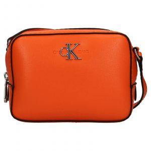 Dámská crossbody kabelka Calvin Klein Jeans Stella – oranžová
