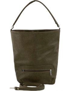 Khaki shopper dámská kabelka vel. ONE SIZE 131460-475182