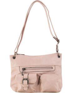 Růžová shopper kabelka s kapsami vel. ONE SIZE 131461-475183