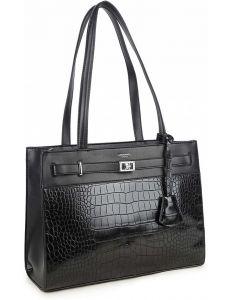 černá pevná shopper kabelka vel. ONE SIZE 131492-475214