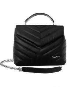 Badura prošívaná černá kožená kabelka vel. ONE SIZE 131531-475253