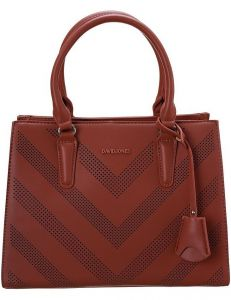 David jones červená shopper kabelka 6281-2 brick red vel. ONE SIZE 131536-475258
