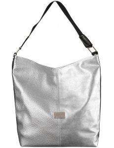 Badura stříbrná sportovní shopper bag vel. ONE SIZE 131538-475260